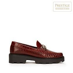 Dámské boty, vínová, 93-D-531-3-35, Obrázek 1