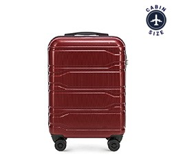 Kabinový cestovní kufr, vínová, 56-3P-881-30, Obrázek 1