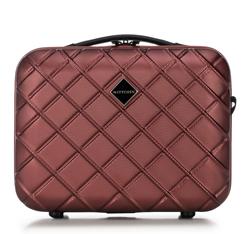 Kosmetická taška z ABS-u, vínová, 56-3A-554-31, Obrázek 1