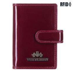 Pouzdro na kreditní karty, vínová, 14-2L-201-3, Obrázek 1
