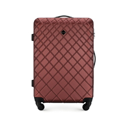 Střední kufr z ABS-u, vínová, 56-3A-552-31, Obrázek 1