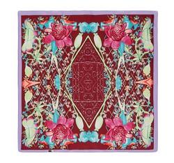 Dámský šátek, vínovo-fialová, 86-7D-S11-X3, Obrázek 1