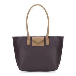 Shopper-Tasche, violett, 88-4Y-200-V, Bild 1
