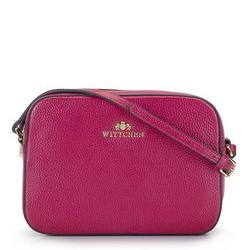 ная сумка-коробочка через плечо, вишневый, 29-4E-005-PF, Фотография 1