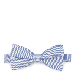 Krawatte, weiß-blau, 87-7I-001-X1, Bild 1