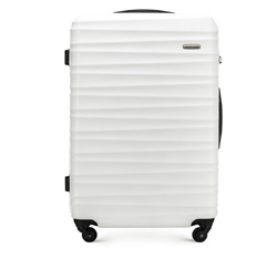 Großer Koffer, weiß, 56-3A-313-89, Bild 1