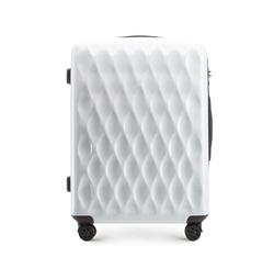 Mittelgroßer Koffer, weiß, 56-3H-552-88, Bild 1