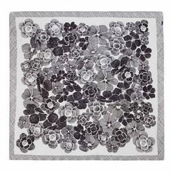 Damen Schal, weiß-schwarz, 86-7D-S22-X02, Bild 1