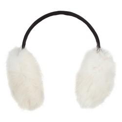 Frauen-Ohrenschützer, weiß-schwarz, 87-HF-203-0, Bild 1
