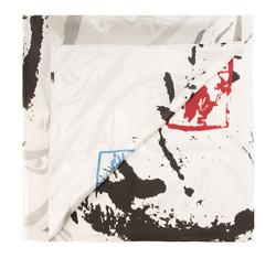 Schal, weiß-schwarz, 85-7D-S21-X3, Bild 1