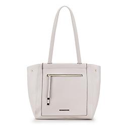 Shopper-Tasche, weiß, 88-4Y-406-0, Bild 1