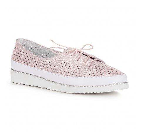 Női cipő, white-pink, 88-D-950-S-36, Fénykép 1