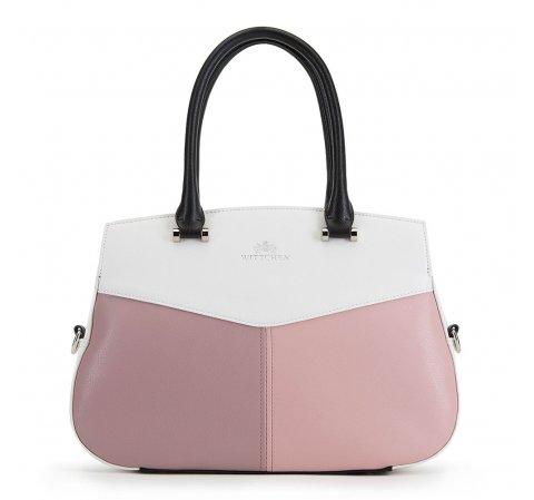 Tote táska, white-pink, 90-4E-353-X1, Fénykép 1