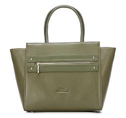 Dámská kabelka, zelená, 87-4E-207-Z, Obrázek 1