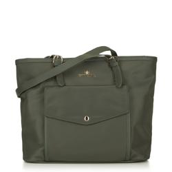 Dámská kabelka, zelená, 88-4E-219-Z, Obrázek 1