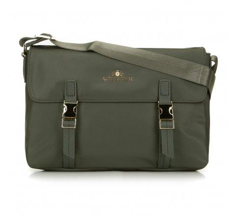 Dámská kabelka, zelená, 88-4E-221-Z, Obrázek 1