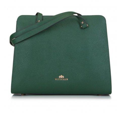 Dámská kabelka, zelená, 89-4-403-Z, Obrázek 1