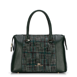 Dámská kabelka, zelená, 89-4E-357-Z, Obrázek 1