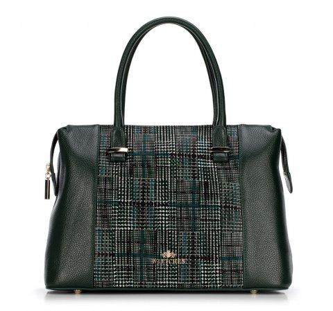 Dámská kabelka, zelená, 89-4E-357-4, Obrázek 1