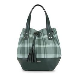 Dámská kabelka, zelená, 90-4Y-751-Z, Obrázek 1