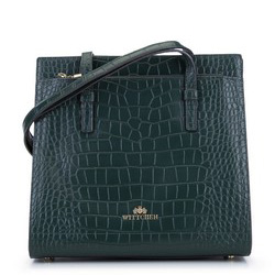 Dámská kabelka, zelená, 93-4E-630-Z, Obrázek 1