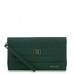 Dámská kabelka, zelená, 91-4E-624-Z, Obrázek 1
