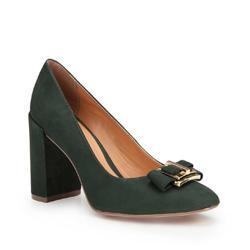 Dámské boty, zelená, 87-D-755-Z-37, Obrázek 1
