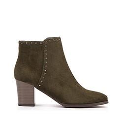 Dámské boty, zelená, 93-D-960-Z-41, Obrázek 1