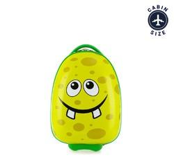 Dětský kufr, zelená, 56-3K-003-G, Obrázek 1