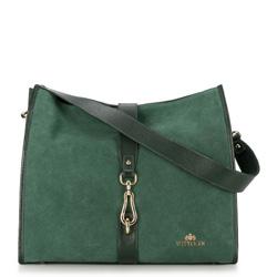 Dámská kabelka, zelená, 89-4E-351-Z, Obrázek 1