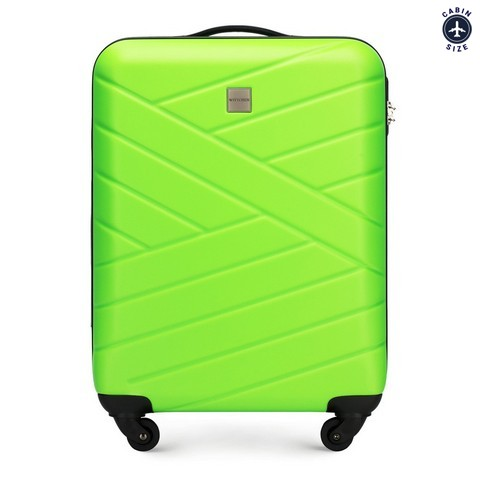 Kabinové zavazadlo, zelená, 56-3A-301-85, Obrázek 1
