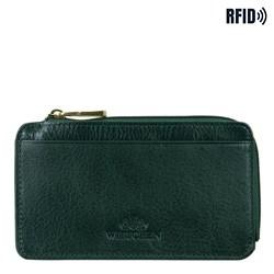 Pouzdro na kreditní karty, zelená, 21-2-290-ZL, Obrázek 1