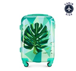 Kabinový cestovní kufr, zelená, 56-3A-641-80, Obrázek 1