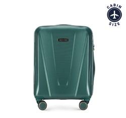Kabinový cestovní kufr, zelená, 56-3P-121-85, Obrázek 1