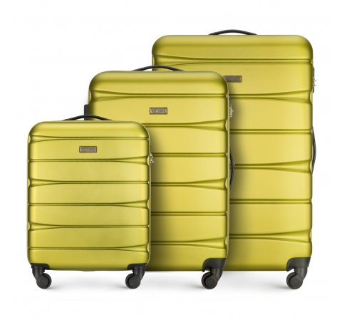 Sada zavazadel, zelená, 56-3A-36S-81, Obrázek 1