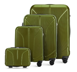 Sada zavazadel, zelená, 56-3P-81K-80, Obrázek 1