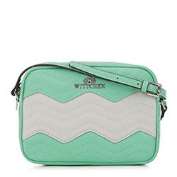 Dámská kabelka, zelená - šedá, 90-4E-614-8Z, Obrázek 1
