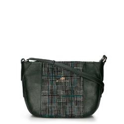 Dámská kabelka, zelená, 89-4E-358-Z, Obrázek 1
