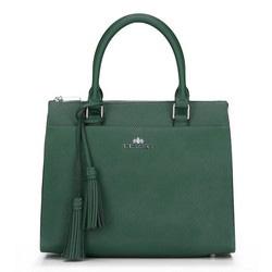 Tote bag, zelená, 89-4-404-Z, Obrázek 1