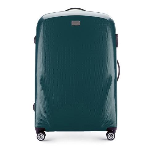 Velký cestovní kufr, zelená, 56-3P-573-35, Obrázek 1
