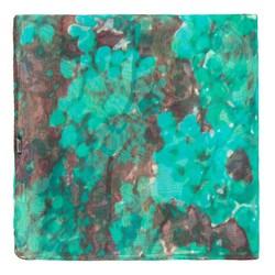 Dámský šátek, zeleno-hnědá, 87-7D-S43-X1, Obrázek 1