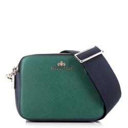 Dámská kabelka, zeleno-modrá, 89-4E-507-X2, Obrázek 1