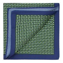 Нагрудный платок, зелено - синий, 87-7P-001-X2, Фотография 1