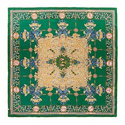 Dámský šátek, zeleno-žlutá, 88-7D-S31-X11, Obrázek 1