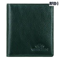Кожаная кредитница, зеленый, 21-2-291-ZL, Фотография 1