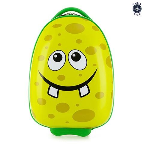 Детский чемодан, зеленый, 56-3K-003-O, Фотография 1