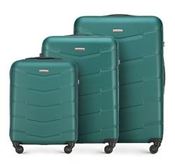 Комплект чемоданов, зеленый, 56-3A-40S-81, Фотография 1