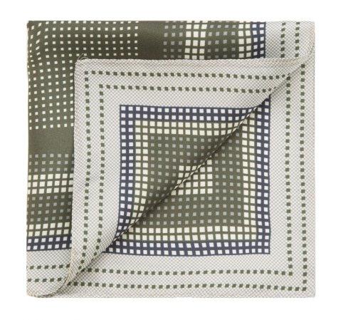 Нагрудный платок, зеленый, 85-7P-X01-X12, Фотография 1