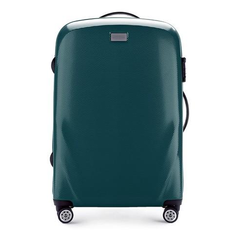 Средний чемодан, зеленый, 56-3P-572-50, Фотография 1