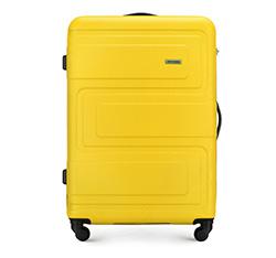 Большой чемодан, желтый, 56-3A-633-50, Фотография 1